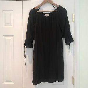 LOFT simple black dress